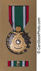 Kuwait Liberation Medal issued to all service personel who...