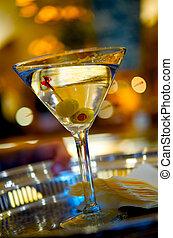 martini, deux, olives