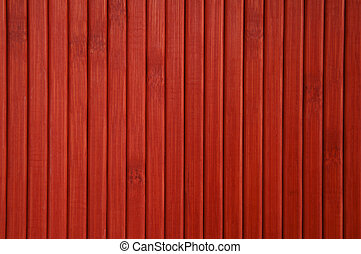 Red Painted Wood Background - Abstract image of red painted...