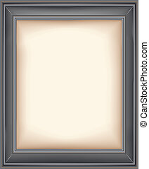 Picture frame - Image of a photo realistic photo frame with...