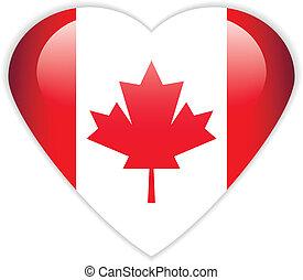 Canada flag button.