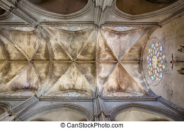 Sevilla: the roof of the cathedral - An HDR photo of the...