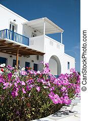 grek, arkitektur,  Cyclades, Öar
