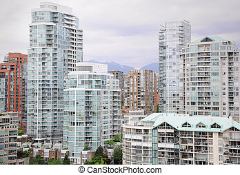 Vancouver downtown.
