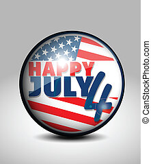 July 4 icon
