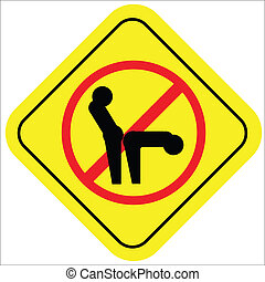 não, sexo, sign!!