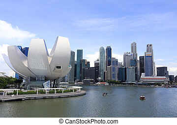 Art Science Museum - SINGAPORE - May 11: ArtScience Museum...