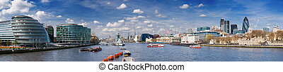 XXXL - City of London skyline - City of London skyline with...