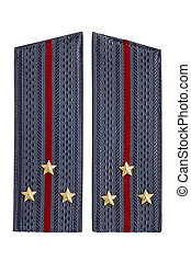 Senior Lieutenant of the Soviet police - Police uniform...
