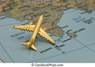 Traveling to India - Plan Traveling to India Map is royalty...