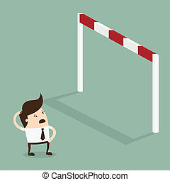 Obstacle - Big problem, Business problems and conquering...