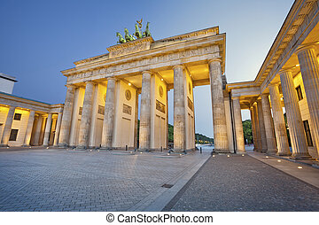 Brandenburg Gate - Image of Brandenburg Gate in Berlin...