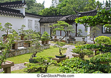 Chinese Garden in Singapore