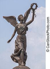 Monument to the Goddess Nike. - Monument to the Goddess of...