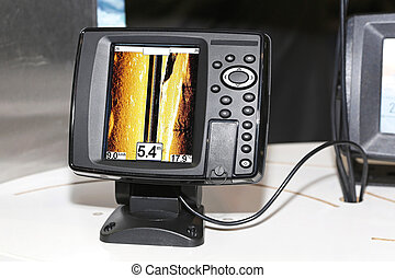 Fish finder - Fishing sonar device for finding fish...