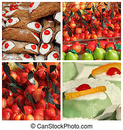sicilian sweets collection