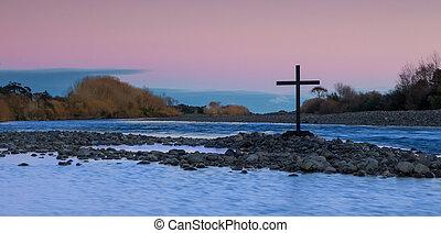 Dawn River Black Cross