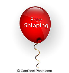 Free Delivery Balloon