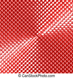 squama - 3d render of abstract glossy squama texture...