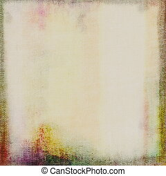 canvas grunge background - color blank prepared canvas...