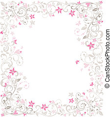 Beautiful wedding border