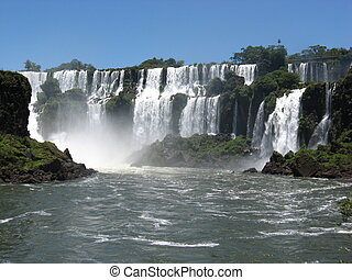 Iguazu Falls, Brazil, South America - Summer in Iguazu Falls...