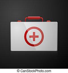 Erste-Hilfe-Koffer - Erste, Hilfe, Koffer, Arzt