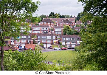 English housing estate