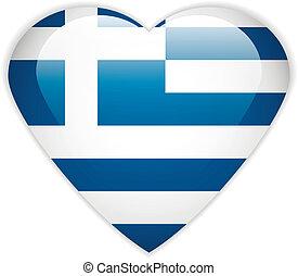 Greece flag button.