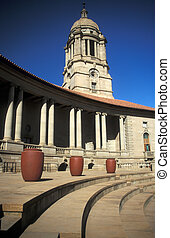 Seat of Power - Majestic Sweep of the Union Buildings in...