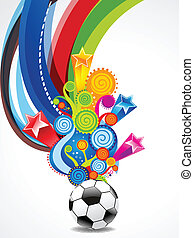 Soccer Explode Background