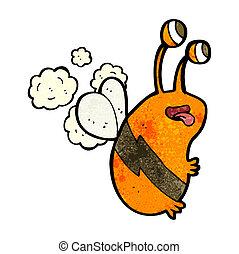 cartoon funny bee