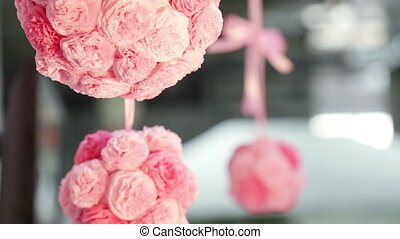 Group Paper flowers - Beautiful festive paper flowers...
