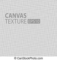 Canvas texture, vector illustration
