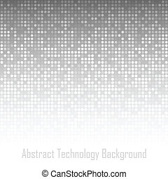 Abstract Gray Technology Background