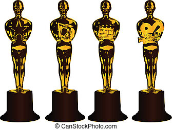 Abstract awards in film