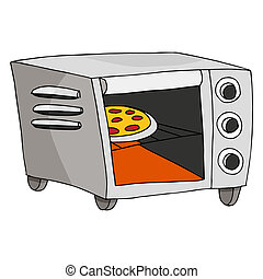 Toaster Oven - An image of a toaster oven