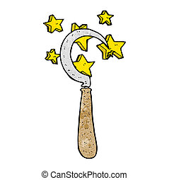 cartoon magic sickle