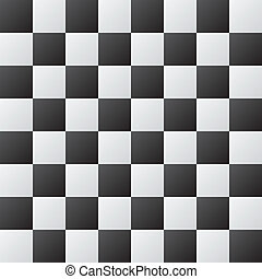 Chessboard abstract background