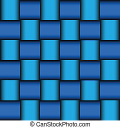 Glossy blue mosaic background, vector illustration