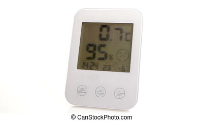 HD - Electronic thermometer Global warming