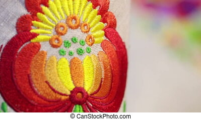 National embroidery