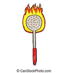 cartoon kitchen utensil