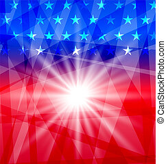 Holiday background for Independence Day