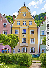 Germany,building facade Renaissance style - Typical house in...