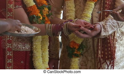 indian wedding ceremony rice - indian wedding ceremony...