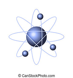 Model of Abstract Atom Structure. Vector