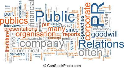 public, relations
