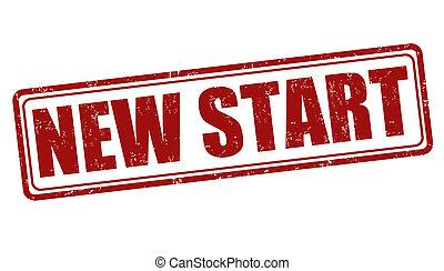 New start stamp