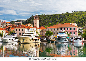Skradin is a small historic town in Croatia - Skradin is a...